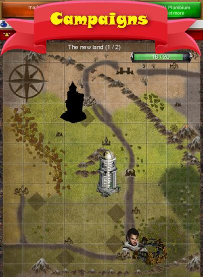 Screenshots do Ur-land: Build your empire - Perigoso para tablet e celular Android.