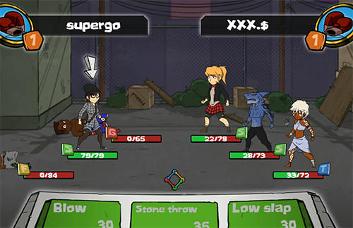 Urban fighters: Battle stars screenshot 4