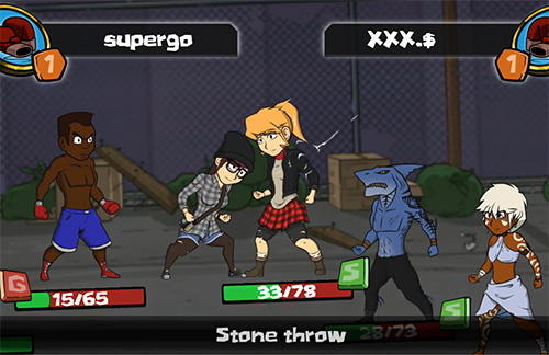 Urban fighters: Battle stars screenshot 5