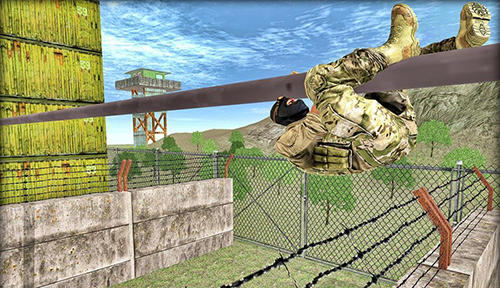 Screenshots von US army: Military training camp für Android-Tablet, Smartphone.
