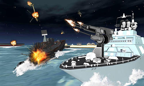 Kostenloses Android-Game US Army: Kriegsschiffsimulator. Vollversion der Android-apk-App Hirschjäger: Die US army ship battle simulator für Tablets und Telefone.