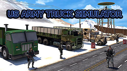 US army truck simulator обложка