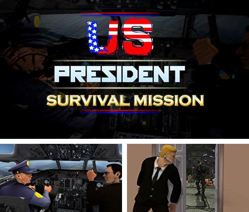 Кроме игры The fear 3: Creepy scream house horror game 2018 скачайте бесплатно US president survival mission: Counter terror war для Android телефона или планшета.