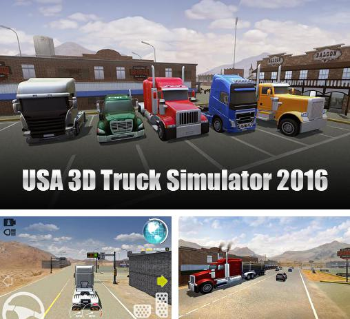 In addition to the game USA 3D truck simulator 2016 for Android, you can download other free Android games for Samsung Galaxy J3 2017.