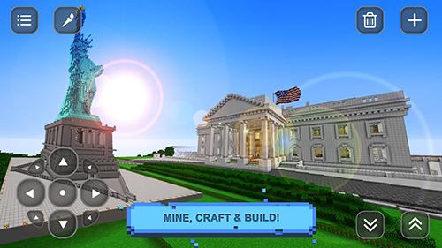 USA block craft exploration 3D screenshot 1