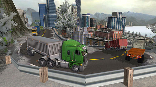 USA truck driver: 18 wheeler screenshot 2