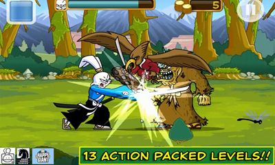 Screenshots von Usagi Yojimbo: Way of the Ronin für Android-Tablet, Smartphone.