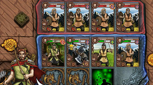 Screenshots von Valhalla: Road to Ragnarok. Raids and gold für Android-Tablet, Smartphone.