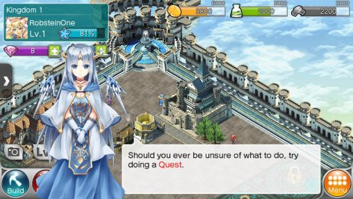 Screenshots von Valkyrie: Crusade für Android-Tablet, Smartphone.