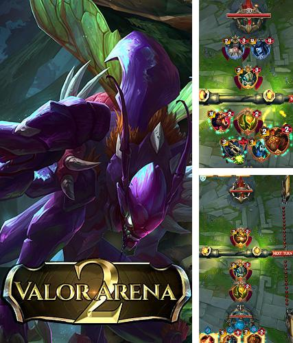 Valor arena 2: League of legends based card game