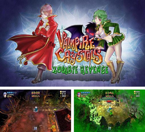In addition to the game Zombie Panic in Wonderland for Android phones and tablets, you can also download Vampire crystals: Zombie revenge for free.
