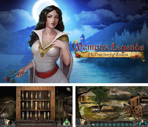 En plus du jeu Une Romance de Vampire pour téléphones et tablettes Android, vous pouvez aussi télécharger gratuitement Légendes de vampires: Secrets de Kisilova, Vampire legends: The true story of Kisilova.