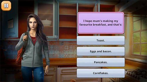 Screenshots von Vampire love story: Game with hidden objects für Android-Tablet, Smartphone.
