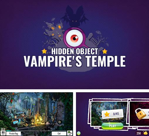 Кроме игры Chronicles of Scara: Dragons скачайте бесплатно Vampires temple: Hidden objects для Android телефона или планшета.