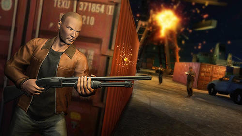 Screenshots do Vegas gangster auto theft - Perigoso para tablet e celular Android.
