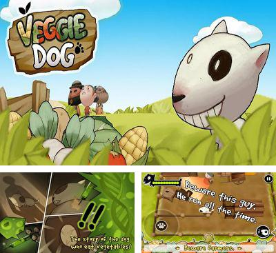 In addition to the game Ninja Cockroach for Android phones and tablets, you can also download Veggie Dog for free.