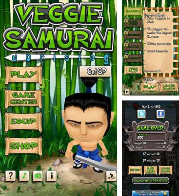In addition to the game Dampfer Welle 3D for Android phones and tablets, you can also download Veggie Samurai Uprising for free.