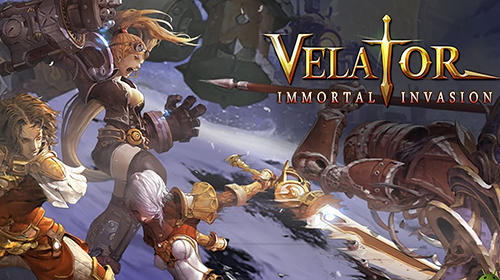 Velator: Immortal invasion poster