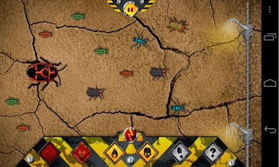 Screenshots of the Vermin for Android tablet, phone.