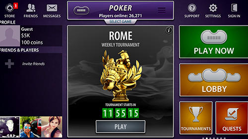 Viber casino screenshot 1