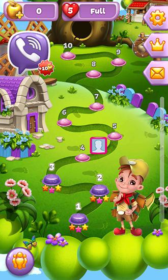 Screenshots von Viber: Fruit adventure für Android-Tablet, Smartphone.
