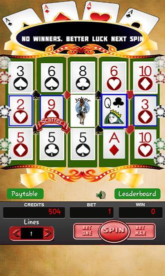Poker Slot Machine Free Download