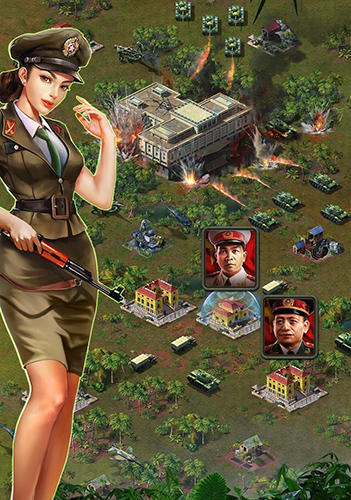 Screenshots von Vietnam war: Platoons für Android-Tablet, Smartphone.