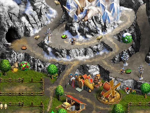 Screenshots von Viking saga 1: The cursed ring für Android-Tablet, Smartphone.