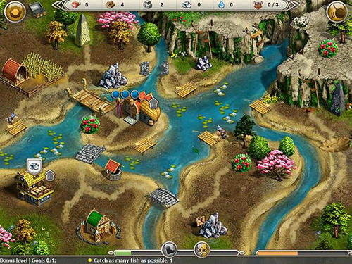 Screenshots von Viking saga 3: Epic adventure für Android-Tablet, Smartphone.