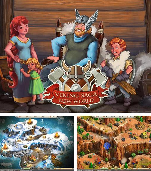 In addition to the game Viking saga for Android phones and tablets, you can also download Viking saga: New World for free.
