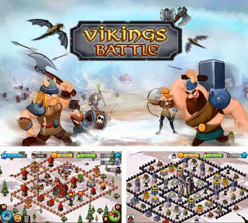 Vikings battle