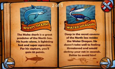 Jogue Vikings & Dragons Fishing Adventure para Android. Jogo Vikings & Dragons Fishing Adventure para download gratuito.
