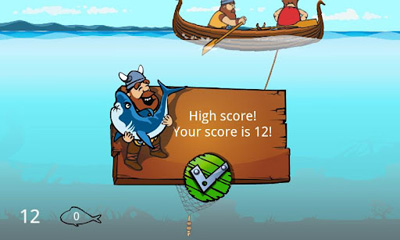Vikings & Dragons Fishing Adventure screenshot 5