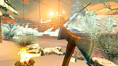 Screenshots von Vikings survival simulator 3D für Android-Tablet, Smartphone.