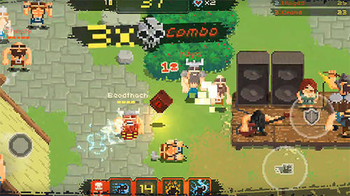 Juega a Vikings village: Party hard para Android. Descarga gratuita del juego Pueblo vikingo: Fiesta gorda.