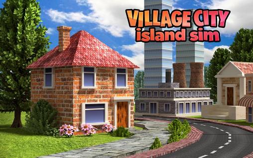 Village city: Island Sim poster