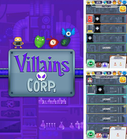 In addition to the game Epic party clicker for Android phones and tablets, you can also download Villains corp. for free.