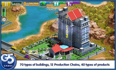 Virtual City 2 Paradise Resort screenshot 2