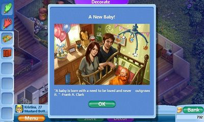 Screenshots do Virtual Families 2 - Perigoso para tablet e celular Android.