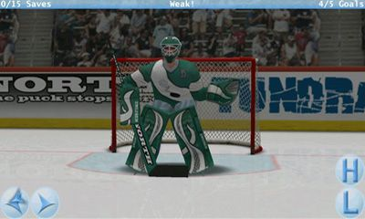 Screenshots von Virtual Goaltender für Android-Tablet, Smartphone.