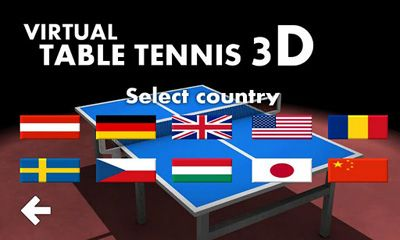Virtual Table Tennis 3D скриншот 2