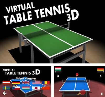 In addition to the game Glow Hockey 3D for Android phones and tablets, you can also download Virtual Table Tennis 3D for free.
