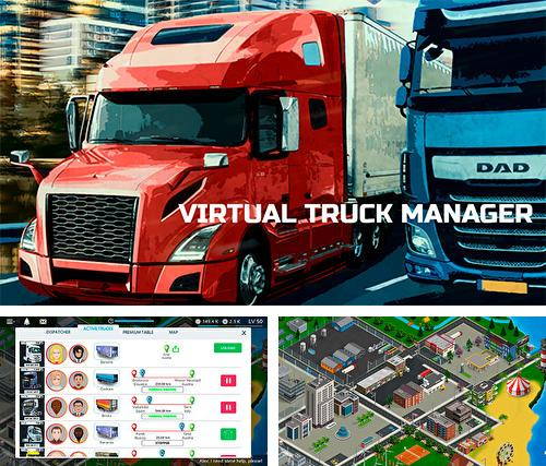 Virtual truck manager: Tycoon trucking company
