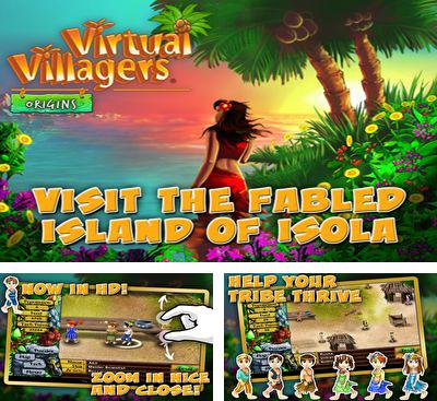 In addition to the game Virtual Families 2 for Android phones and tablets, you can also download Virtual Villagers: Origins for free.