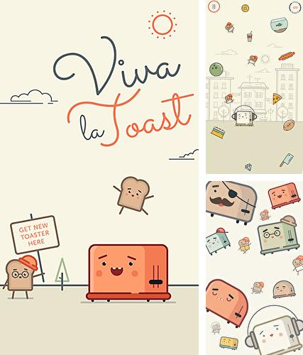 In addition to the game Wall kickers for Android phones and tablets, you can also download Viva la toast for free.