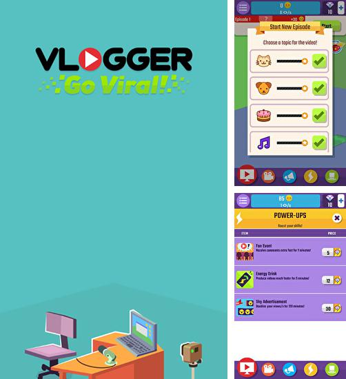 In addition to the game Epic party clicker for Android phones and tablets, you can also download Vlogger go viral! Clicker for free.