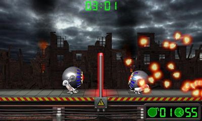 Screenshots of the Volley Bomb for Android tablet, phone.