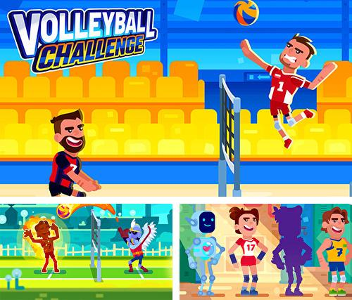 Volleyball challenge: Volleyball game