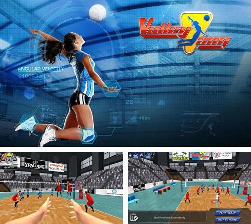 In addition to the game Volleyball: Extreme edition for Android phones and tablets, you can also download Volleysim for free.