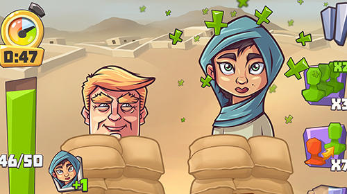 Screenshots do Vote blitz! Clicker arcade and idle politics game - Perigoso para tablet e celular Android.